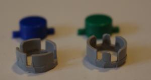 Gameboy Knopfstützen