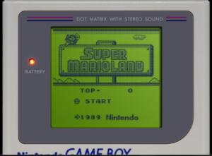 Gameboy DMG-01 Display